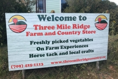 A visit to Three Mile Ridge Farm