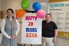 Lisa Celebrates 20 Years of employment!